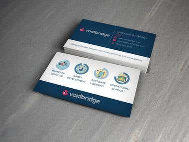Personally designed business card