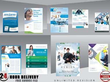 Flyer Poster & Brochure