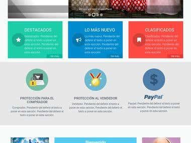 PHP / Laravel - Improves on Marketplace Site