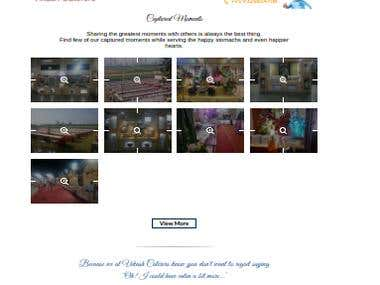 Catering Services Website