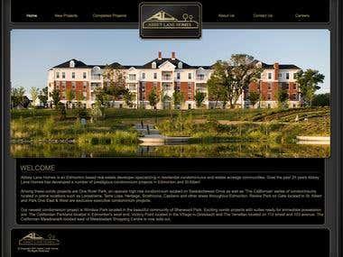 Abbeylane Homes Website