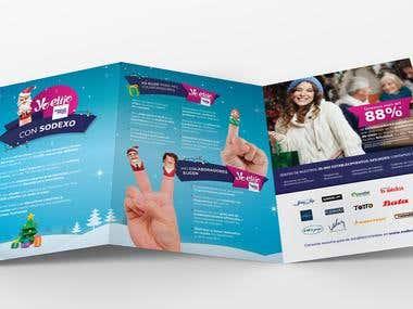 Brochure, Sodexo Navidad 2014