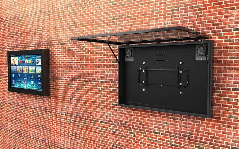 TV Enclosure Design   Freelancer