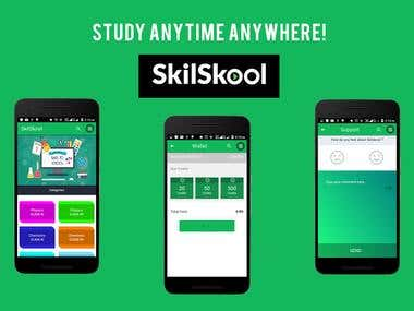 SkilSkool : An Video Learning APP