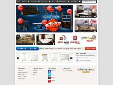 Online Store and Web Design