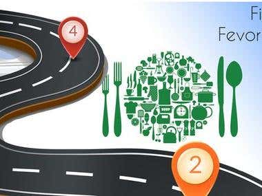 Nearby restaurant search and place order online