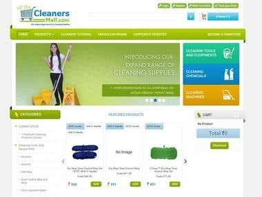 online shopping mall - ASP.NET