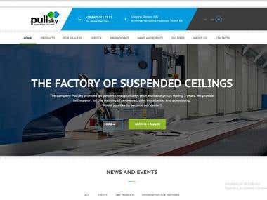 The factory of suspended ceilings