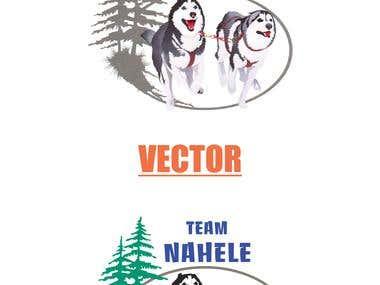 Vector Tracing Logo