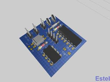 Circuit Design + Schematic + Board Design