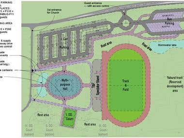 Masterplan for a Youth Sport Facility on Samoa