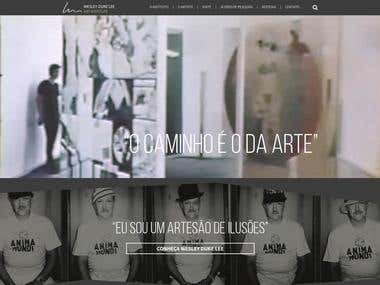 Website Wordpress Instituo Wesley Duke Lee