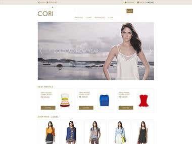 Loja Virtual Cori Linx