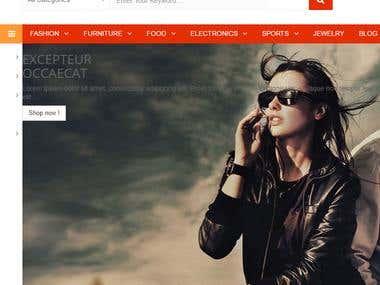Online Shopping Site in paresta