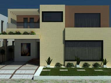 Home Front in 3ds Max