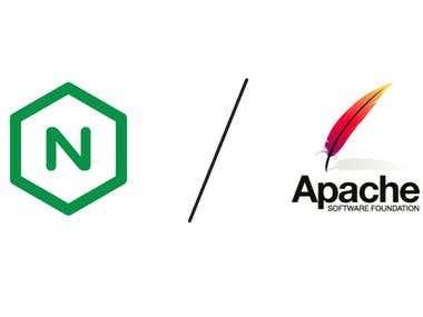 Nginx hybrid with apache web server