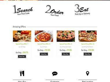 EDS: Food Ordering Website