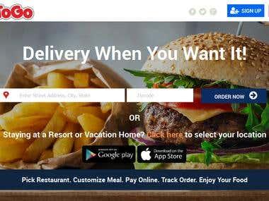Bizitogo -food ordering