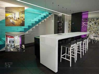 Visualization 3D and Interior Design