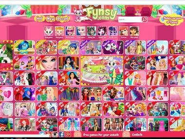 The website with flash games.