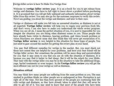 Vertigo killer review