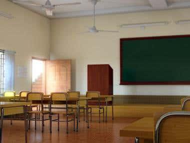 Classrom render