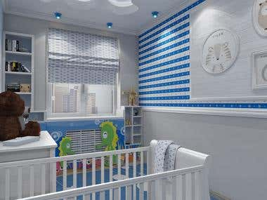 Kids bedroom versions