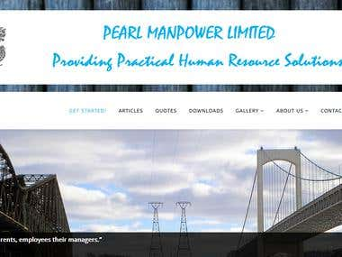 Pearl Manpower Limited website