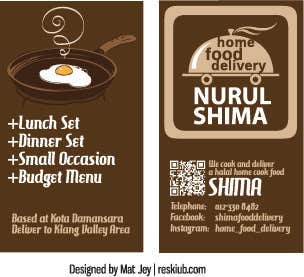 Home Food - Business Card
