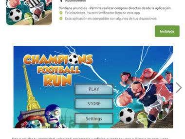 Champions Football Run – Unity3D