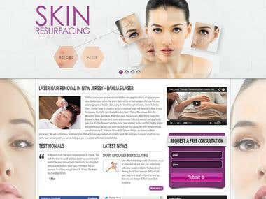 Design, Development & SEO for Beauty Salon Website