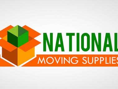 National Moving Supplies Logo