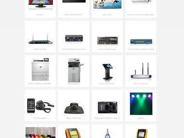 E-Comm Website