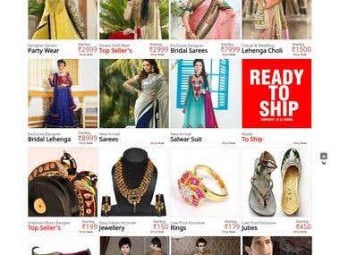 Indian Export Center: eCommerce Website