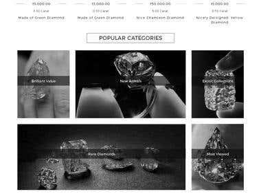 E-Comm multivendor Web (Gems & Jewellery)
