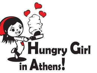 Hungry Girl In Athens Logo
