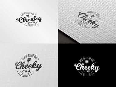 Cheeky Pickle Logo Design