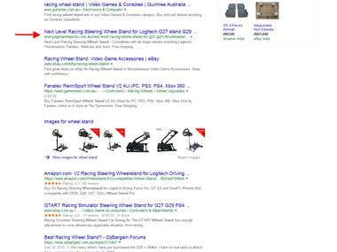 wheel stand - Rank in Google.com.au