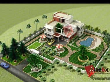 An Architecture Landscape Plan