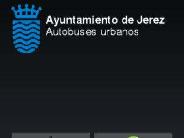 Jerez's buses Android application