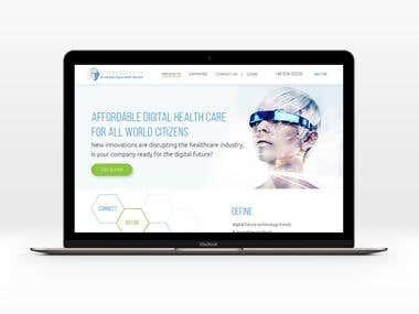 Landing page. Web Design. Responsive. UI Design.
