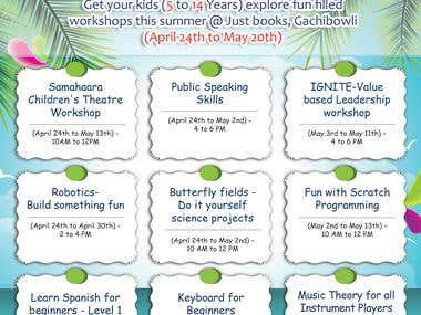 Summer Workshop Banner