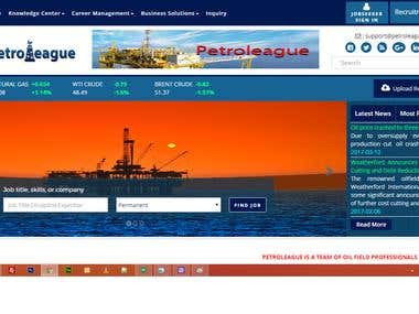 Petroleague Oil and Gas information and Job Portal