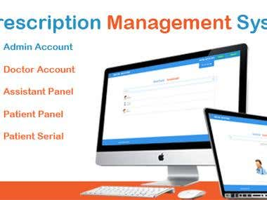 PRESCRIPTION MANAGEMENT SYSTEM