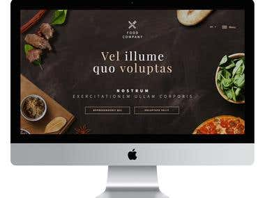 Hungry? - Web Design