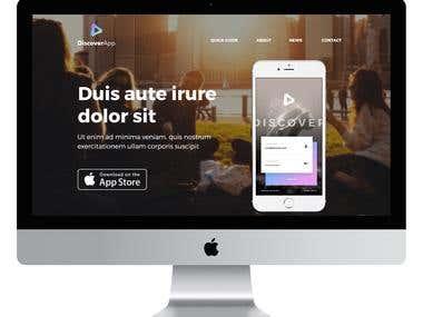 Apptastic - Web Design
