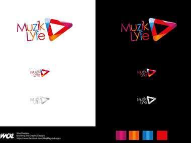 """""""Muzik Lyfe"""" Logo design..."""