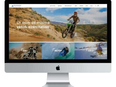 Enjoying Life - Web Design