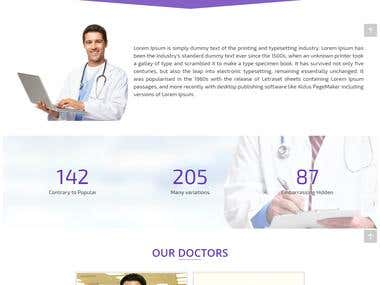 Medical site by wordpress