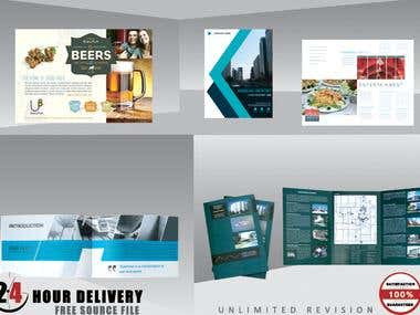 BROCHURE,Flyer,Trifold,Book,PostCard etc